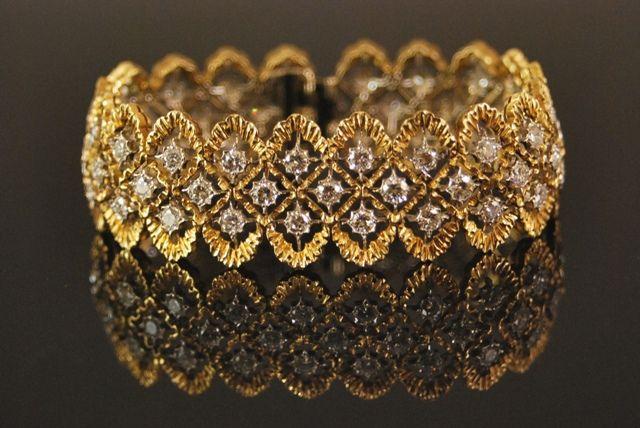 Gold & Diamond Bracelet by Buccellati