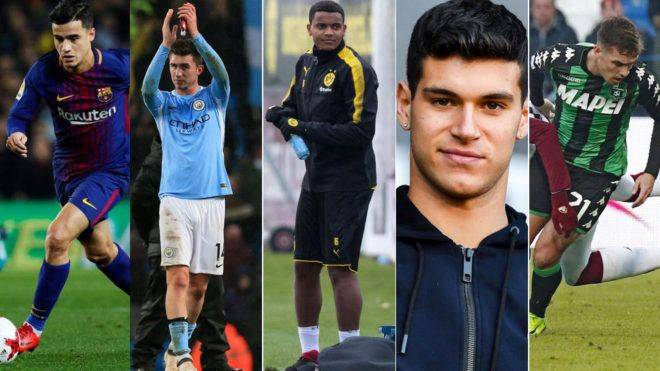 Mercado de fichajes 2018: Los equipos de las cinco grandes ligas han gastado 900 millones de euros   Marca.com http://www.marca.com/futbol/mercado-fichajes/2018/02/01/5a7252ea46163f0b1e8b4650.html