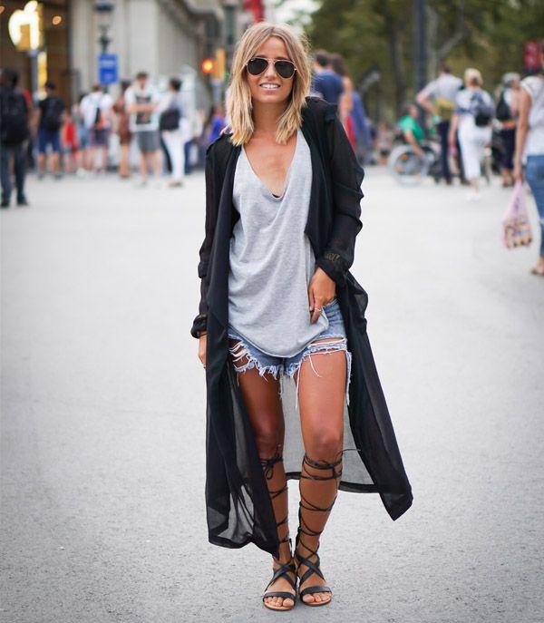 15 Maneiras de usar Shorts Jeans                                                                                                                                                                                 Mais