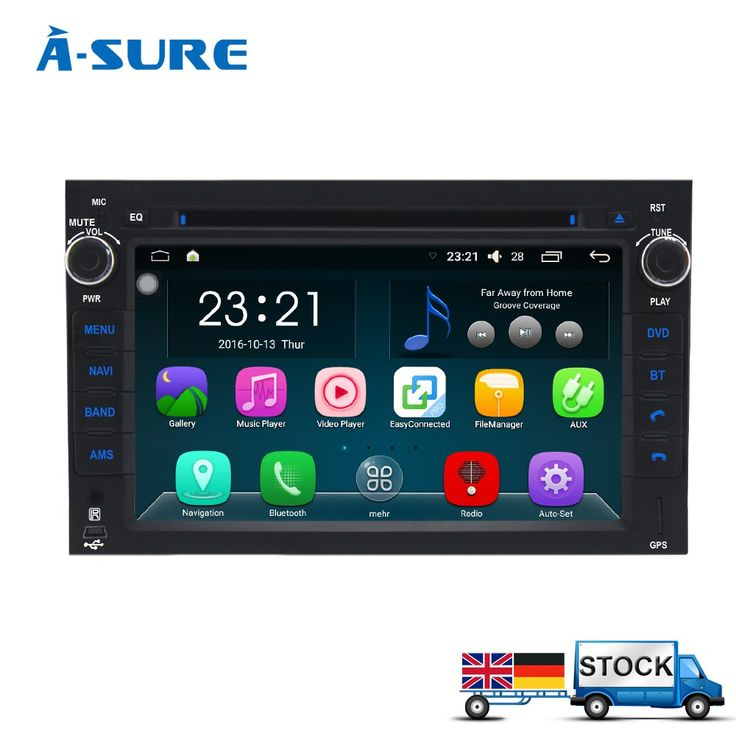 Best price US $230.08  A-Sure Android 6.0 2Din GPS Player for Chevrolet AVEO CAPTIVA EPICA LOVA SPARK WiFi DAB+ Radio Navigation Bluetooth QuadCore DVD