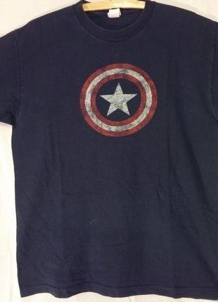 Kup mój przedmiot na #vintedpl http://www.vinted.pl/odziez-meska/koszulki-z-krotkim-rekawem-t-shirty/12289433-kapitan-ameryka-marvel