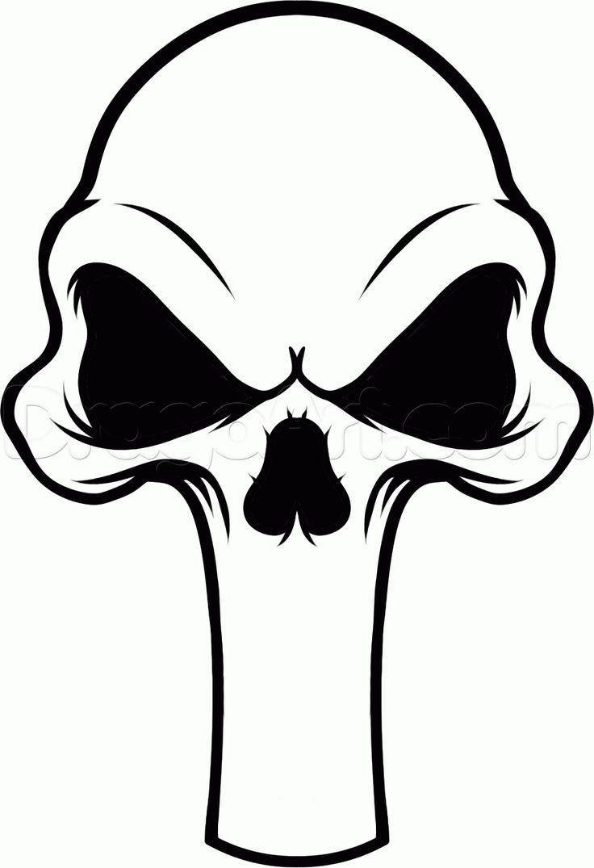 25 best ideas about punisher skull tattoo on pinterest