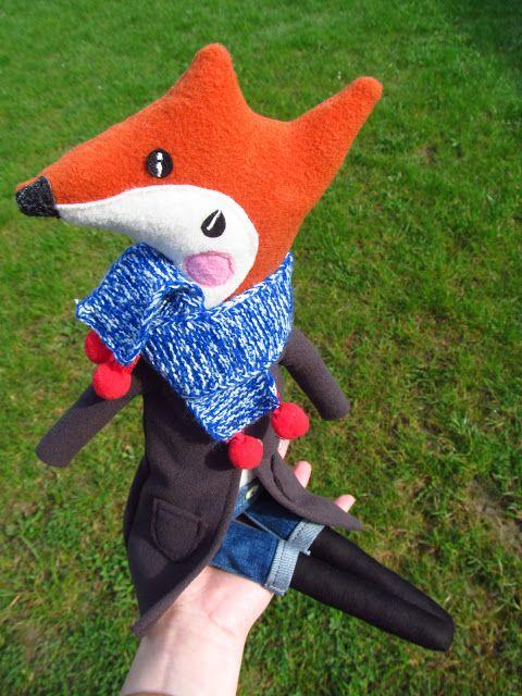 www.polandhandmade.pl #polandhandmade #handmade #fox