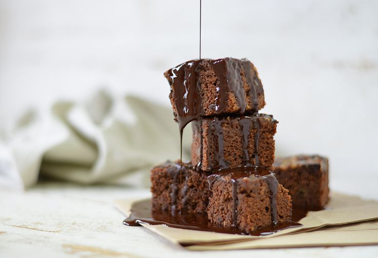 Gluten-Free Cacao and Banana Brownies - Move Nourish Believe
