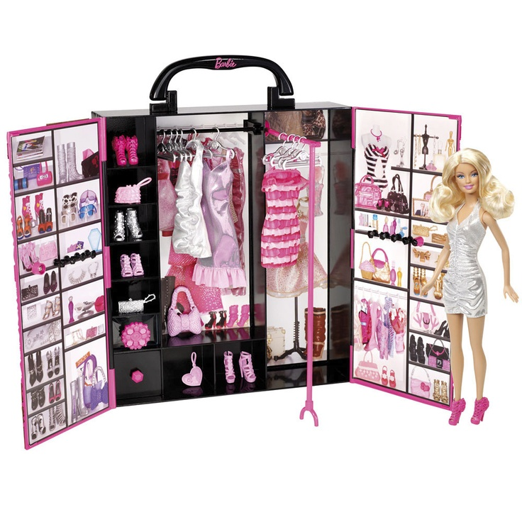 Stunning El armario de Barbie Life in the Dreamhouse Mattel