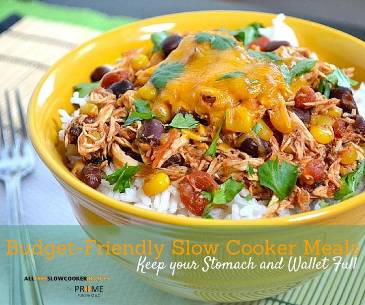 29 Super Slow Cooker Budget Meals | These meals will not blow your budget!