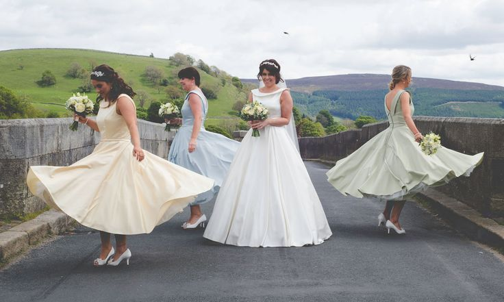 Immerse yourself and your guests in wondrous beauty as you enjoy your special day in the heart of the Yorkshire Dales #DevonshireFell #Yorkshire #Dales #wedding #love #bride #bridesmaid #bridge #venue #beauty #travel #view