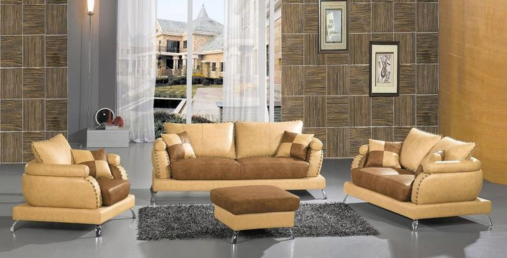 Kaitlyn Leather Living Room Set