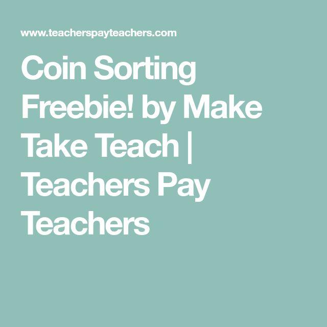 Coin Sorting Freebie! by Make Take Teach | Teachers Pay Teachers
