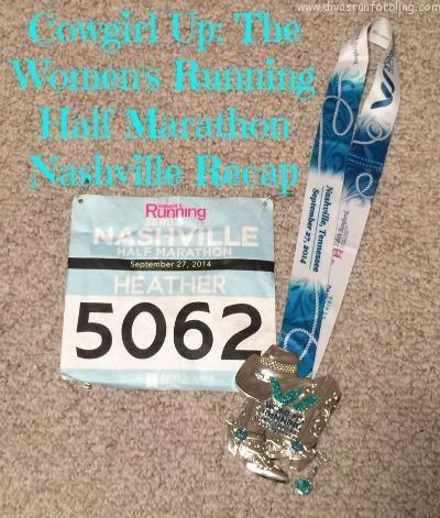 The Women's Running Half Marathon Nashville Recap