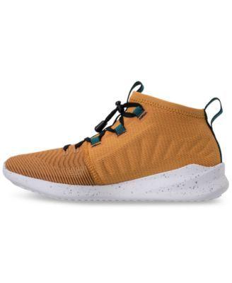 new balance cypher run. new balance men\u0027s cypher run casual sneakers from finish line - tan/beige 10.5