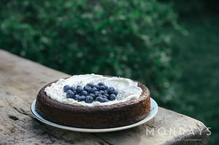 Blueberry almond gluten free cake  Food styling and photography services, please email info@mondayswholefoods.com