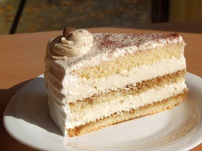 Recepti za kolače: Kapućino tortaCreamy Cake, Cake Layered
