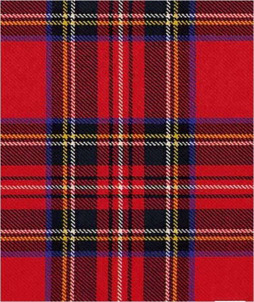 My favorite tartan design; Royal stewart