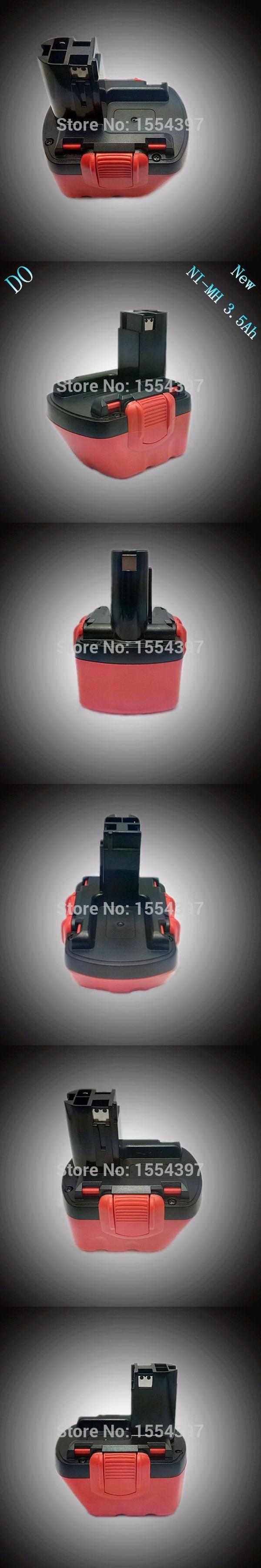 Sale 12V  3500mAh Ni-MH Rechargeable Power Tool Battery Replacement for Bosch 12V BAT139 BAT043 BAT045 BAT046 BAT049 BAT120