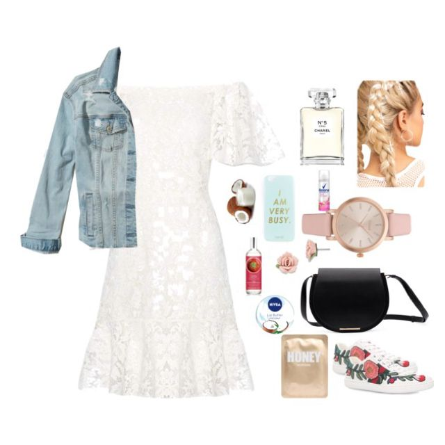 Party outfit ⚪️🕧☁️🎂✉️