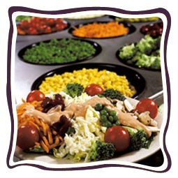 Salad for everyone! 40+ fresh items, build your favorite @ John's Inredible Pizza Co. http://www.johnspizza.com