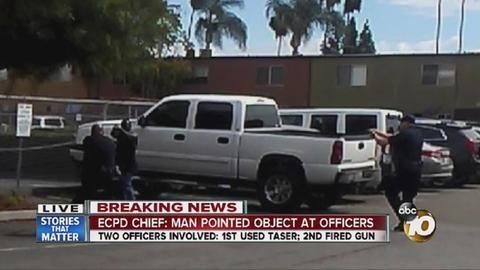 Breaking news: El Cajon vape device involved in fatal police shooting
