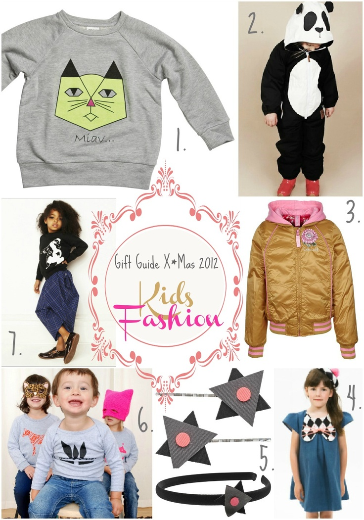 kleinstyles Christmas Gift Guide 2012   lovely present ideas for kids fashion