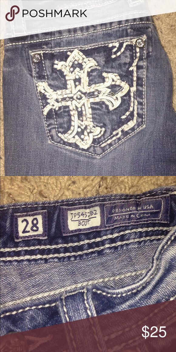 Miss Mes Size 28 Miss Mes in great condition Miss Me Jeans Boot Cut