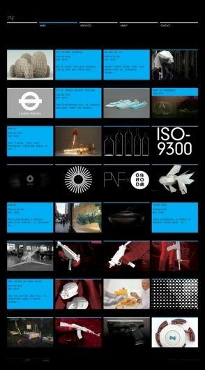 The website design showcase of PostlerFerguson.