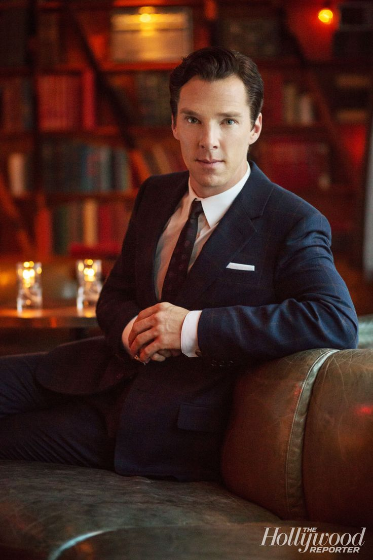 """Benedict Cumberbatch: Exclusive Portraits of 'The Fifth Estate's' Leading Man"" — *swoons too hard and falls over*"