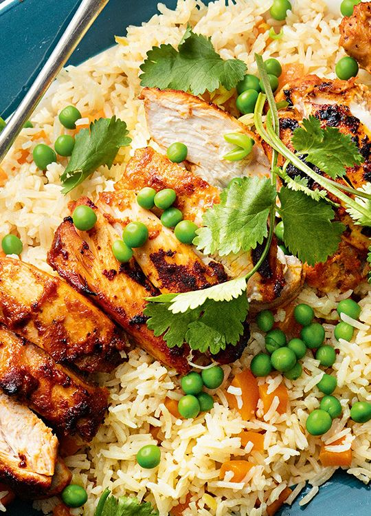 How to make Tandoori Chicken with Vegetable Pilaf