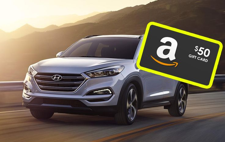 Free $50 from #Hyundai for test driving.  Great weekend activity with your friends and family!  #free #giftcard #freebie #giveaway https://www.spoofee.com/free-gift-card-test-driving-a-hyundai/deals/897004?utm_content=bufferb3208&utm_medium=social&utm_source=pinterest.com&utm_campaign=buffer
