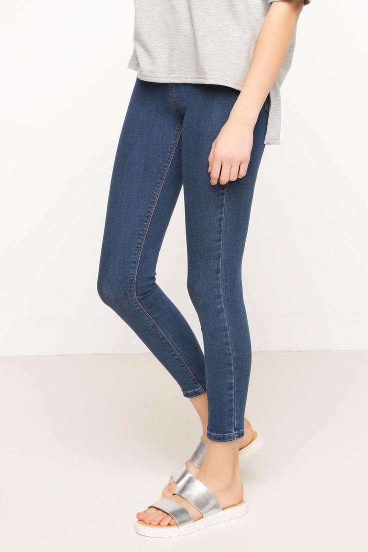 DeFacto Marka Anna Skinny Denim Pantolon || Skinny dar paçası ile size fit bir görünüm kazandıracak, şık ve rahat DeFacto bayan pantolon                        http://www.1001stil.com/urun/3405463/anna-skinny-denim-pantolon.html?utm_campaign=DeFacto&utm_source=pinterest
