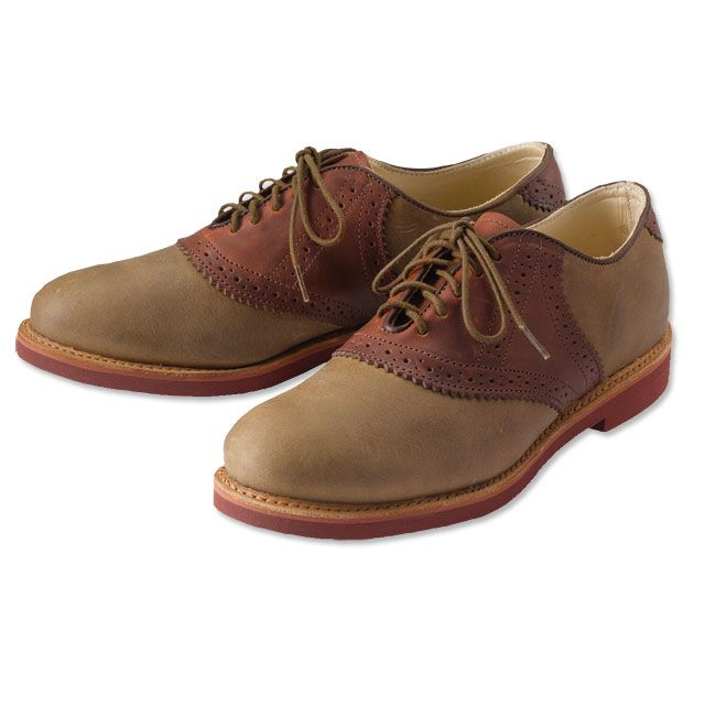 Made in USA, Made in America.  Saddle Shoes for Men - Walk-Over  Saddle Shoes -- Orvis on Orvis.com!