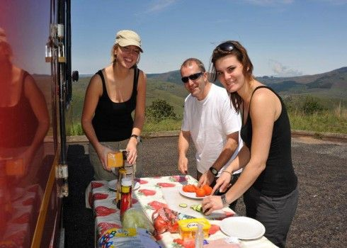 South African Overland Trip - 17 day small group accommodated safari. Guaranteed from 4 clients, maximum group size: 12 clients. DEPARTS: JOHANNESBURG on Saturday at 06:30am | ENDS: CAPE TOWN on Monday @ ±18:00pm