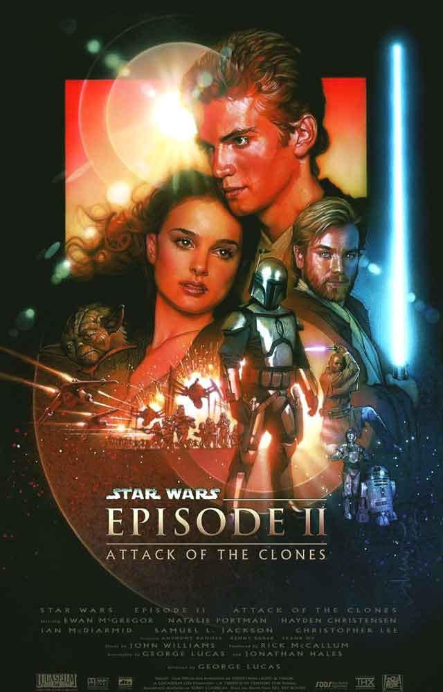 Star Wars Episode II Attack of the Clones Poster 11x17 from BananaRoad. Shop more products from BananaRoad on Wanelo.