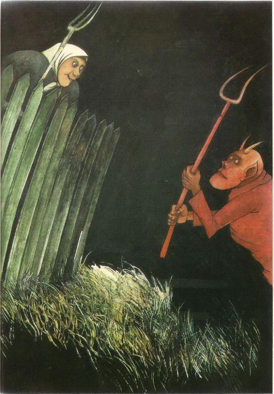"A CARGA — Marian Murawski, from ""Księga Bajek Polskich"",..."