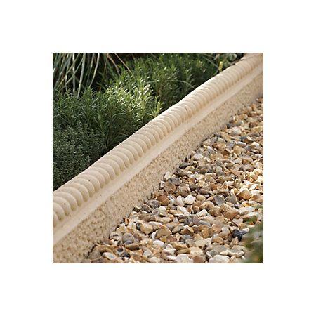 Paving Edging Old Granite, (L)600mm (H)50mm | Departments | DIY at B&Q