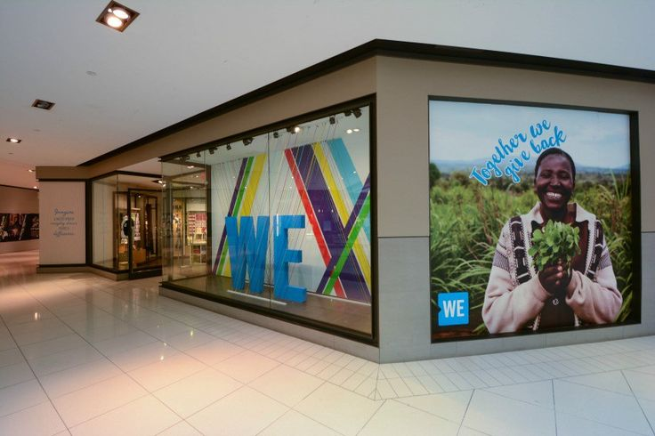 Check out the new ME to WE pop up shop for socially conscious products - located on level 3 at CF Rideau Centre in the heart of Ottawa.