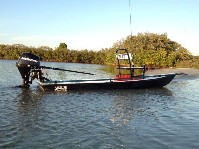 Thomas Scoggins Pelican Flats Boats 13' ft Ambush