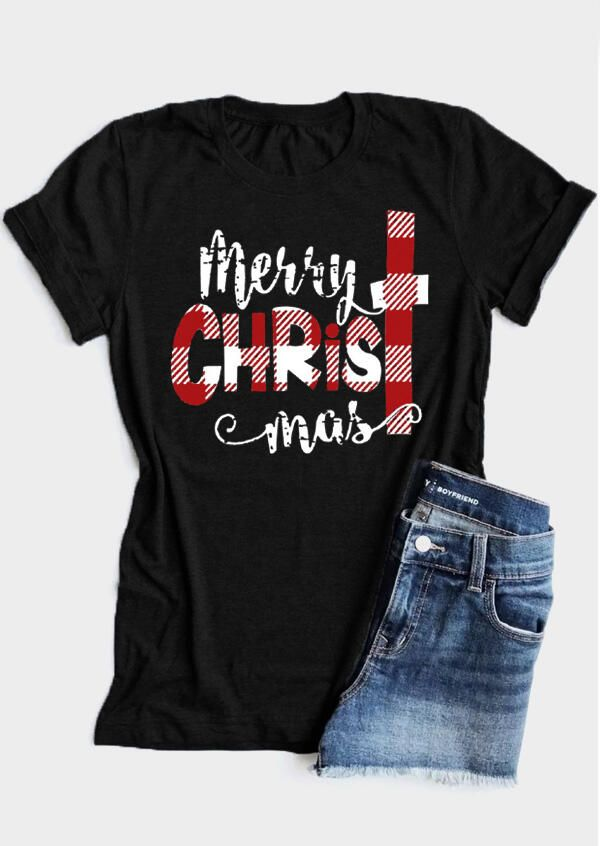 Stylish Merry Christmas Happy Year Comfortable A Great T-Shirt