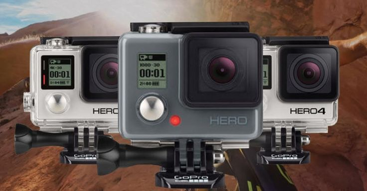 GoPro, the manufacturer of high-durability cameras made for extreme situations, is releasing its new line of Hero4 devices on Oct. 5.