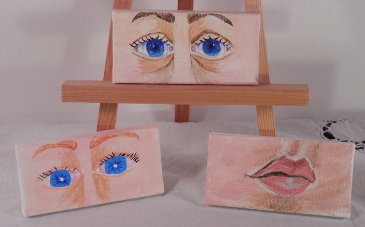 Painting-See & Speak by TangibleIntangibles on Etsy