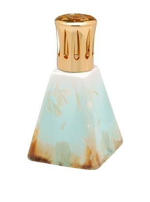 64% OFF Crystalline Pyramid Oil Lamp, Teal