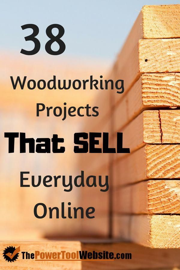 DIY Woodworking Ideas Need some extra cash? Here are 38 beginner woodworking projects you can build to sell for a profit. Each one with free plans. Woodworking for money has never been easier than now. Woodworking Projects That Sell - See Them Here! #beginnerwoodworking #woodworkingprojects #woodworkingformoney #makemoremoney #projectstosell #thepowertoolwebsite