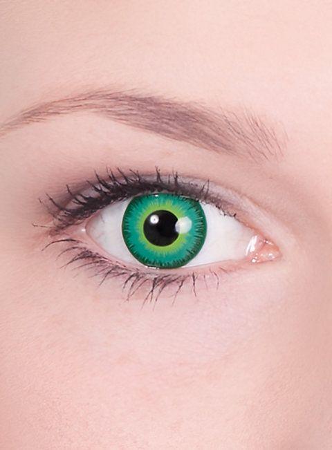 Alien Kontaktlinsen  #contactlenses #cosplay  #halloween #sfx #larp #green