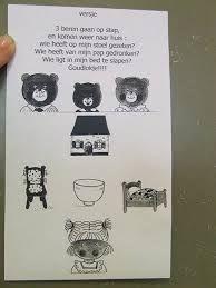 goudlokje en de drie beren peuters - Google zoeken