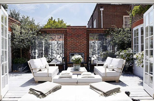 Enastående terrass med möbler – Outdoor Living