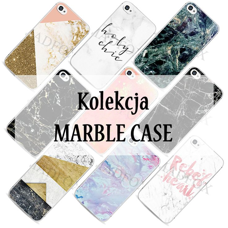 Kolekcja MARBLE CASE w madfoox.pl #marble #case #obudowa #etui #telefon