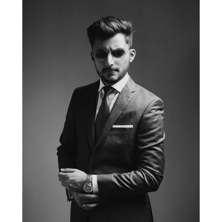 Black and white Mens suit photo by Irfan Intekhab Suit : Angelico Fashion UAE Watch : Orient watches #fashion #mensfashion #blackandwhite #photography