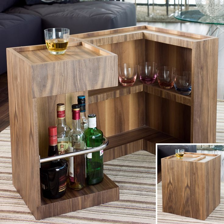 Ms de 25 ideas increbles sobre Mini bares en Pinterest  Bar de sala de estar Dark wood furniture living room y Mini bars for home