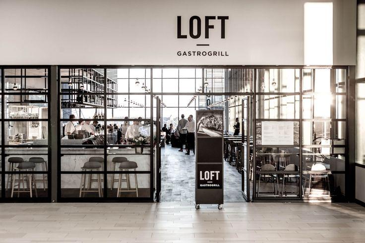 Form barstools industrial restaurant LOFT in Copenhagen