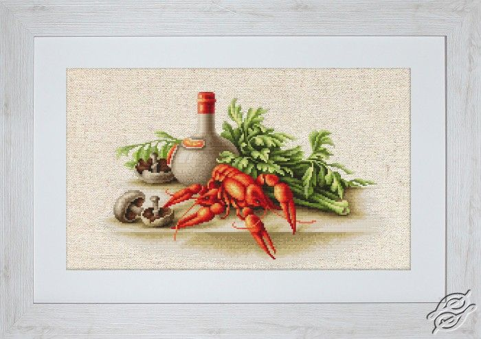Still Life with Crayfish - Cross Stitch Kits by Luca-S - BL2258