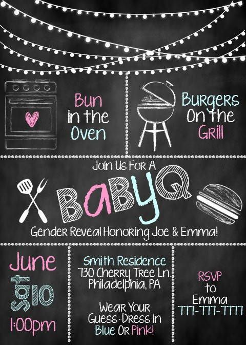 Throw the perfect co-ed Gender Reveal Party with these